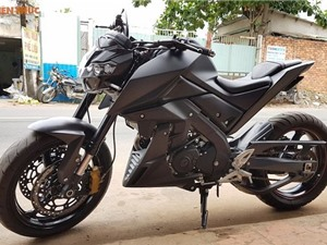 """Thợ Việt độ """"xế còi"""" Yamaha TFX150 phong cách môtô PKL"""