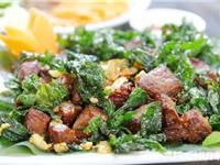 Thịt trâu lá trơng - nét hấp dẫn trong văn hóa ẩm thực Quảng Trị