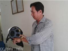 Sáng chế mũ bảo hiểm thông gió, thay đổi tùy theo thời tiết
