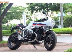 Cận cảnh môtô BMW R nine T Racer đầu tiên tại Việt Nam