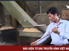 Người nông Thừa Thiên - Huế chế tạo máy sản xuất chất đốt bảo vệ môi trường