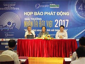 Giải thưởng Nhân tài Đất Việt 2017 hướng tới Cuộc cách mạng công nghiệp 4.0 và khởi nghiệp
