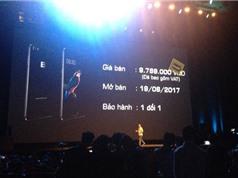 Bphone 2017 ra mắt: Chip Snapdragon 625, chống nước, giá 9,789 triệu đồng