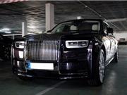 Siêu xe sang Rolls-Royce Phantom 2018 đầu tiên lăn bánh