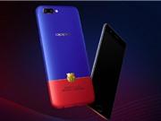 Oppo ra mắt smartphone R11 phiên bản Barcelona: Mạ vàng 18K, giá gần 12 triệu