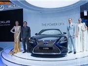 Cận cảnh xế sang hybrid tiền tỷ Lexus LS500h tại Việt Nam