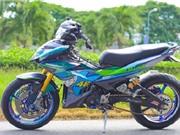 Yamaha Exciter 150 độ phụ kiện môtô 1000cc tại Cần Thơ