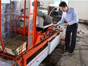 Máy gieo hạt 6 trong 1 độc đáo của nông dân Lâm Đồng