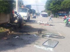CLIP HOT NGÀY 12/8: Xe container tông chết 3 người ở TPHCM, gây tai nạn thảm khốc vì vượt ẩu