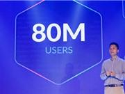 Zalo cán mốc 80 triệu người dùng