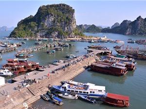 """""""Lạc bước"""" vào cảng biển đẹp bậc nhất Vịnh Bắc Bộ"""