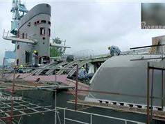 """Ảnh hiếm quá trình Trung Quốc """"sao chép"""" tàu ngầm Kilo của Nga"""