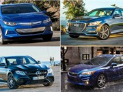 Top 10 xe hơi an toàn nhất năm 2017