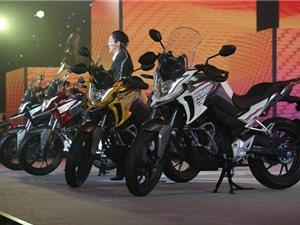 """Cận cảnh môtô """"phượt"""" Honda CB190X vừa ra mắt"""