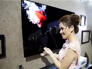 LG trình làng TV mỏng nhất Việt Nam, giá 650 triệu đồng
