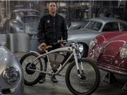 Xe đạp điện phong cách Porsche giá 150 triệu đồng