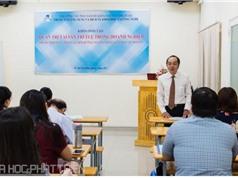 TPHCM: Tổ chức đào tạo cho doanh nghiệp quản trị tài sản trí tuệ