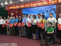 Hà Nội: Trao chứng nhận tiếp nhận 12 dự án khởi nghiệp