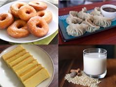 Món ngon trong tuần: Ba chỉ một nắng, bánh dẻo trà xanh, bánh đậu xanh, sữa gạo
