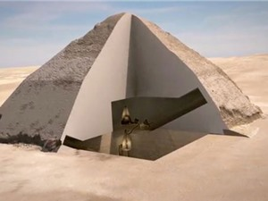 Phát hiện 2 hầm bí ẩn trong kim tự tháp Ai Cập