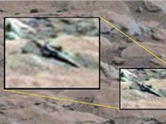 Phát hiện vật thể giống kiếm cổ trên sao Hỏa gây sốt