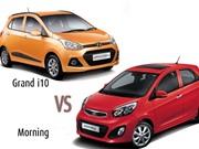 Doanh số Kia Morning thua xa Hyundai Grand i10 tại Việt Nam