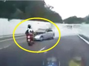 CLIP HOT NGÀY 22/8: Ngã lộn nhào vì phanh đĩa, tài xế chết thảm sau tai nạn liên hoàn