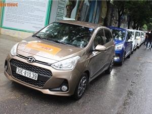 """Hyundai Grand i10 tại Việt Nam """"uống"""" 3,7 lít xăng/100km"""