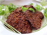 Cách làm thịt bò khô từ thịt lợn rất dễ
