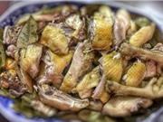 Công thức làm món gà hấp muối sả thơm ngon hấp dẫn