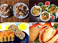 Món ngon trong tuần: Gà bó xôi, mì vằn thắn, bánh nướng thập cẩm, bánh mì nướng muối ớt
