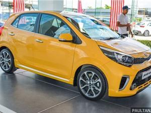 Chùm ảnh Kia Picanto 2018 sắp bán ở Malaysia
