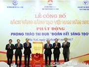 72 công trình có mặt trong Sách vàng Sáng tạo Việt Nam 2017
