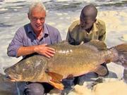 Clip: Câu được cá rô sông Nile nặng hơn 45kg