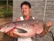 Clip: Chinh phục cá trắm đen khổng lồ ở Bắc Giang