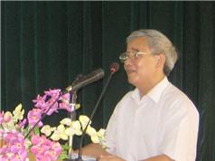 PGS-TS Hoàng Văn Tiệu: Tiến sỹ Võ Văn Sự là người làm khoa học rất cầu kỳ