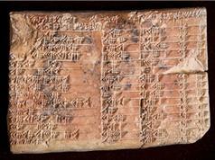 Giải mã thành công bảng lượng giác cổ nhất thế giới của người Babylon