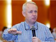 """Học giả Göran Roos: """"Không chuyển dịch sản phẩm, Việt Nam sẽ mất lợi thế cạnh tranh"""""""