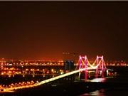 Ấn tượng với cây cầu treo dây võng dài nhất Việt Nam
