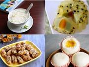 Món ngon trong tuần: Tàu hủ, bánh Trung thu rau câu chanh leo nhân bơ, bánh bao nhân phô mai