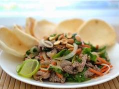 Mẹo chế biến món bò tái chanh ngon hơn nhà hàng