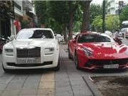 Ngắm bộ đôi siêu xe 40 tỷ của đại gia Hà Nội