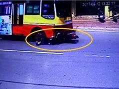 Clip: Xe buýt lấn làn, gây tai nạn chết người ở Nam Định