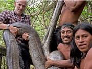 Clip: Theo chân thổ dân Amazon đi bắt trăn khổng lồ