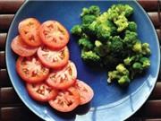 Cà chua kết hợp với súp lơ xanh chống ung thư hiệu quả