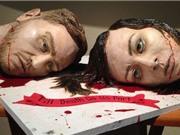 SỐC: Tiệc cưới với bánh đầu lâu thể hiện tình yêu vĩnh cửu