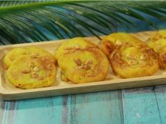 Clip: Hướng dẫn cách làm món bánh khoai lang dễ như trở bàn tay