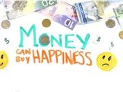 """Một nghiên cứu khoa học phủ nhận câu """"tiền không thể mua được hạnh phúc"""""""