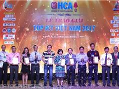Trao Giải thưởng TOP ICT Việt Nam 2017