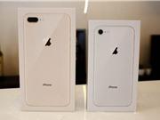 Chùm ảnh bộ đôi iPhone 8 và 8 Plus vừa về Việt Nam